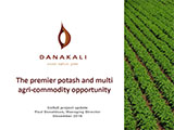 DANAKALI, The premier potash and multi agri-commodity opportunity