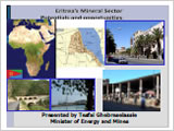 Eritrea's Mining Resources and Opportunities - 2009